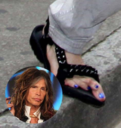 male stars with ugly feet