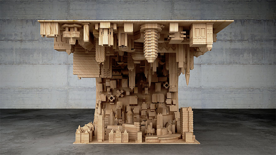 Inception-Inspired Coffee Table Bends A City In Your Living Room-03