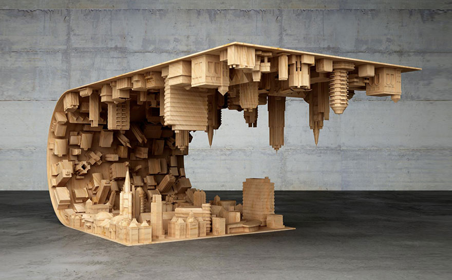 Inception-Inspired Coffee Table Bends A City In Your Living Room-04