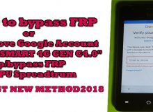 How to bypass FRP,or Remove Google TRUE SMART 4G GEN C 4