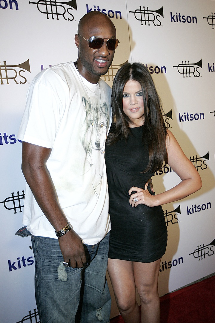 ARCHIVE PHOTOS: Lamar Odom Over The Years Pictured: Lamar Odom, Khloe Kardashian Ref: SPL1151254 141015 Picture by: All Access Photo Group Splash News and Pictures Los Angeles: 310-821-2666 New York: 212-619-2666 London: 870-934-2666 photodesk@splashnews.com