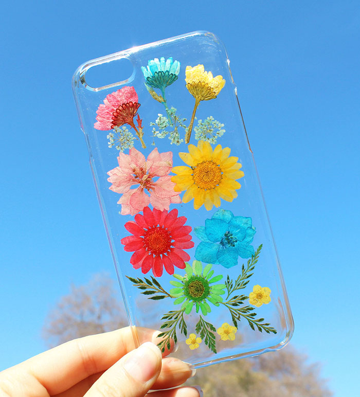 Real Flower Phone Cases To Welcome Spring-014