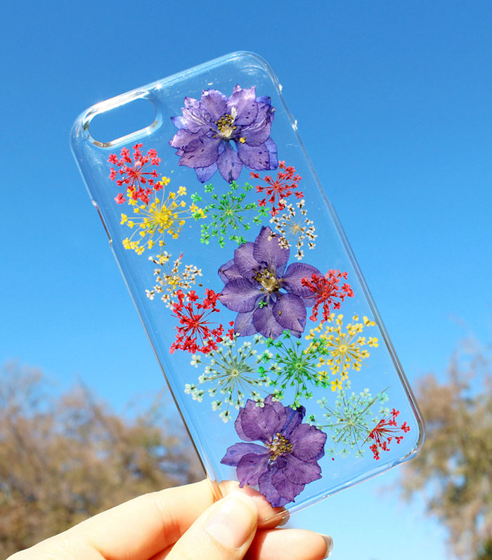 Real Flower Phone Cases To Welcome Spring-12