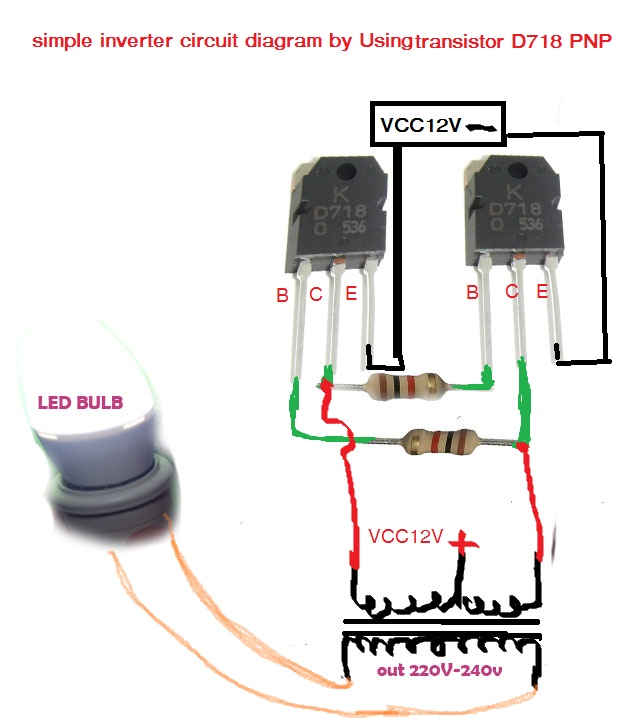 Diagram Simple Inverter