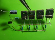 Best Amplier 50W using Transistor B688 and C2655