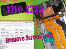 VIVO X21a device lock by password/pattern/facelock/ & FRP lock . So simply