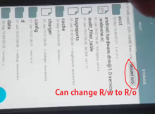 Run Root Explorer if you can change R/W to R/O make sure phone device 100% rooted