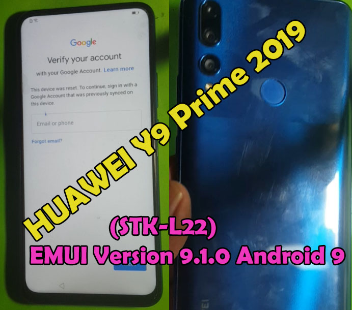 (STK-L22) EMUI Version 9.1.0 Android 9