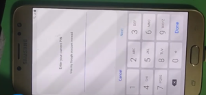 Here Samsung Device Loked by FRP with Passcode Locked too!