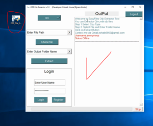 Step 1= please Download and Setup ( EasyFiles Ofp Extractor Tool)