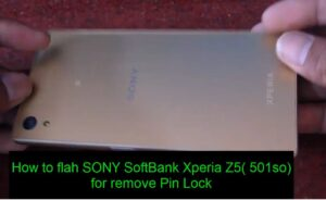 SONY SoftBank Xperia Z5( 501so)​