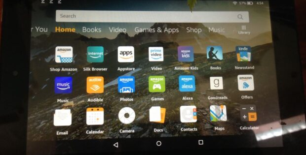 mazon Fire Tablet